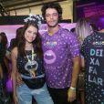 'Eu gosto de passar o Carnaval juntinho', contou Agatha Moreira ao Purepeople