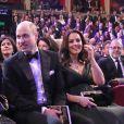 Kate Middleton assistiu à premiação na primeira fileira