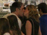 William Bonner e Natasha Dantas se beijam e curtem cinema no Rio. Veja fotos!