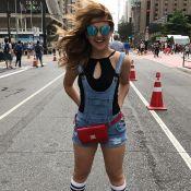 Klara Castanho conta como impediu assaltos no Carnaval: 'Cadeado na pochete'