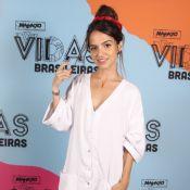 Pally Siqueira aposta em look unissex no lançamento de 'Malhação'. 'Sem gênero'