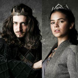 Casamento. Foto do site da Pure People que mostra 'Deus Salve o Rei': Rodolfo trai Lucrécia com Catarina e decide anular casamento