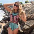 Ticiane Pinheiro se surpreendeu com os rumores de que estaria grávida do segundo filho