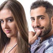 'BBB18': Patricia dá selinho em Kaysar após festa.'Gosto de você. Me dá energia'