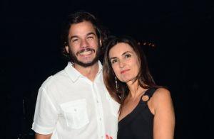 Fátima Bernardes e o namorado, Túlio Gadêlha, curtem show em São Paulo. Fotos!