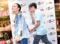 Larissa Manoela evita fotos ao lado do namorado, Leo Cidade, em evento de moda