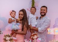 Roberta Rodrigues comemora 1º aniversário da filha, Linda Flor: 'Maior amor'