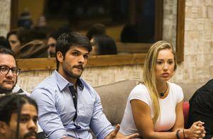 'BBB18': Lucas e Jéssica apostam na vinda da noiva dele ao Paredão. 'Vem sim'