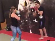 Patricia Abravanel volta a treinar 1 mês após nascimento da filha: 'Faltam 10kg'