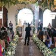 Luísa Sonza e Whindersson Nunes realizaram cerimônia para 350 convidados em São Miguel dos Milagres nesta quarta-feira, 28 de fevereiro de 2018