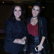 Leticia Lima divide pijamas com Ana Carolina: 'Fez uma gaveta com camisetas'