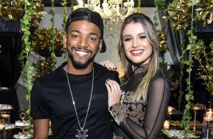 Nego do Borel tem boa relação com mãe da namorada: 'Só não dorme com a gente'