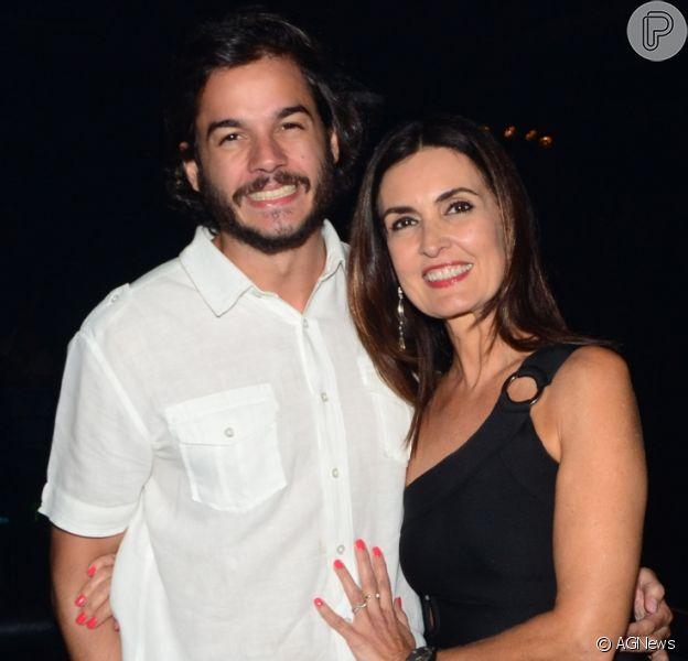Túlio Gadêlha comemora 4 meses de namoro com Fátima Bernardes nesta sexta-feira, dia 02 de março de 2018