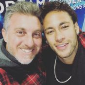 Luciano Huck manda recado de apoio a Neymar após cirurgia e pede: 'Cabeça boa'