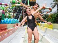 Larissa Manoela e o namorado, Leo Cidade, curtem parque aquático:'Muito gostoso'