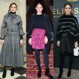 Olivia Palermo usa 4 looks diferentes para prestigiar os desfiles da Semana de Moda de Paris com coleções de outono e inverno de 2019