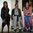 Selah Marley apostou em 3 look exuberantes para prestigiar os desfiles da Semana de Moda de Paris com coleções de outono e inverno de 2019