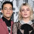 Rami Malek and Lucy Boynton prestigiaram os desfiles da Semana de Moda de Paris com coleções de outono e inverno de 2019