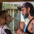 Sophia (Marieta Severo) mata Mariano (Juliano Cazarré) a tesouradas ao ser chantageada pelo ex-amante, nos próximos capítulos da novela 'O Outro Lado do Paraíso'