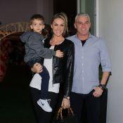 Ana Hickmann festeja 4 anos do filho, Alexandre: 'Menino grande e forte'