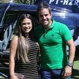 Simone, da dupla com Simaria, também recebeu declaração do marido, o piloto de avião Kaká Diniz. 'Amor verdadeiro'