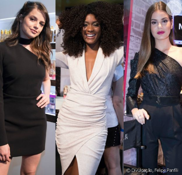 Famosas se reunem no lançamento da campanha da L'Oréal, no Boulevard Olímpico, Rio de Janeiro, nesta quarta-feira, 7 de março de 2018