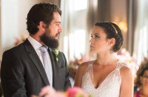 'O Outro Lado do Paraíso': Clara enfrenta Renato no altar e não se casa