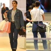 Bruna Marquezine usa look casual e bolsa de R$ 8 mil para ir às compras. Fotos!