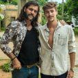 Johnny, personagem de Bruno Montaleone, é irmão de Mariano (Juliano Cazarré) e terá relacionamento com Maíra (Juliane Araújo) na novela 'O Outro Lado do Paraíso'