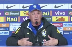 Felipão revela amuleto para ganhar a Copa, mas Brasil só empata com o México