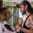 Sophia (Marieta Severo) 'mata' Mariano (Juliano Cazarré) após o garimpeiro descobrir seus crimes na reta final da novela 'O Outro Lado do Paraíso'