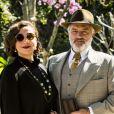 Namorado de Celeste (Marisa Orth), Conselheiro (Werner Schünemann) festeja na novela 'Tempo de Amar': 'Está com uma saúde de ferro, Reinaldo (Cássio Gabus Mendes)'