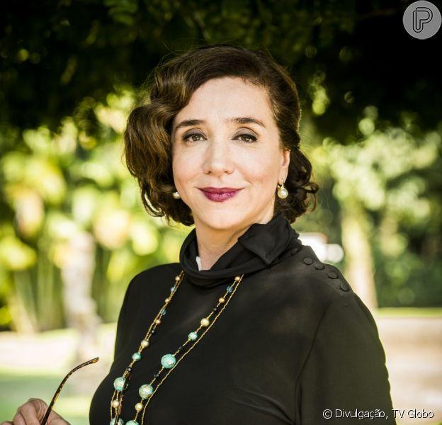 Celeste (Marisa Orth) fica curada de um tumor no capítulo desta quarta-feira, 14 de março de 2018, da novela 'Tempo de Amar', adianta nesta terça-feira o colunista de TV Daniel Castro