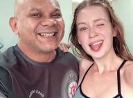 Personal mostra força de Marina Ruy Barbosa em treino de muay thai: 'Muito suor'