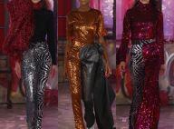 Michael Halpern: estilista revelação rouba a cena da moda com criações de paetês