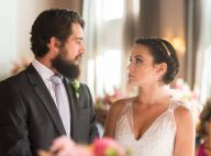'O Outro Lado do Paraíso': Clara usa look moderno em casamento com Renato. Fotos