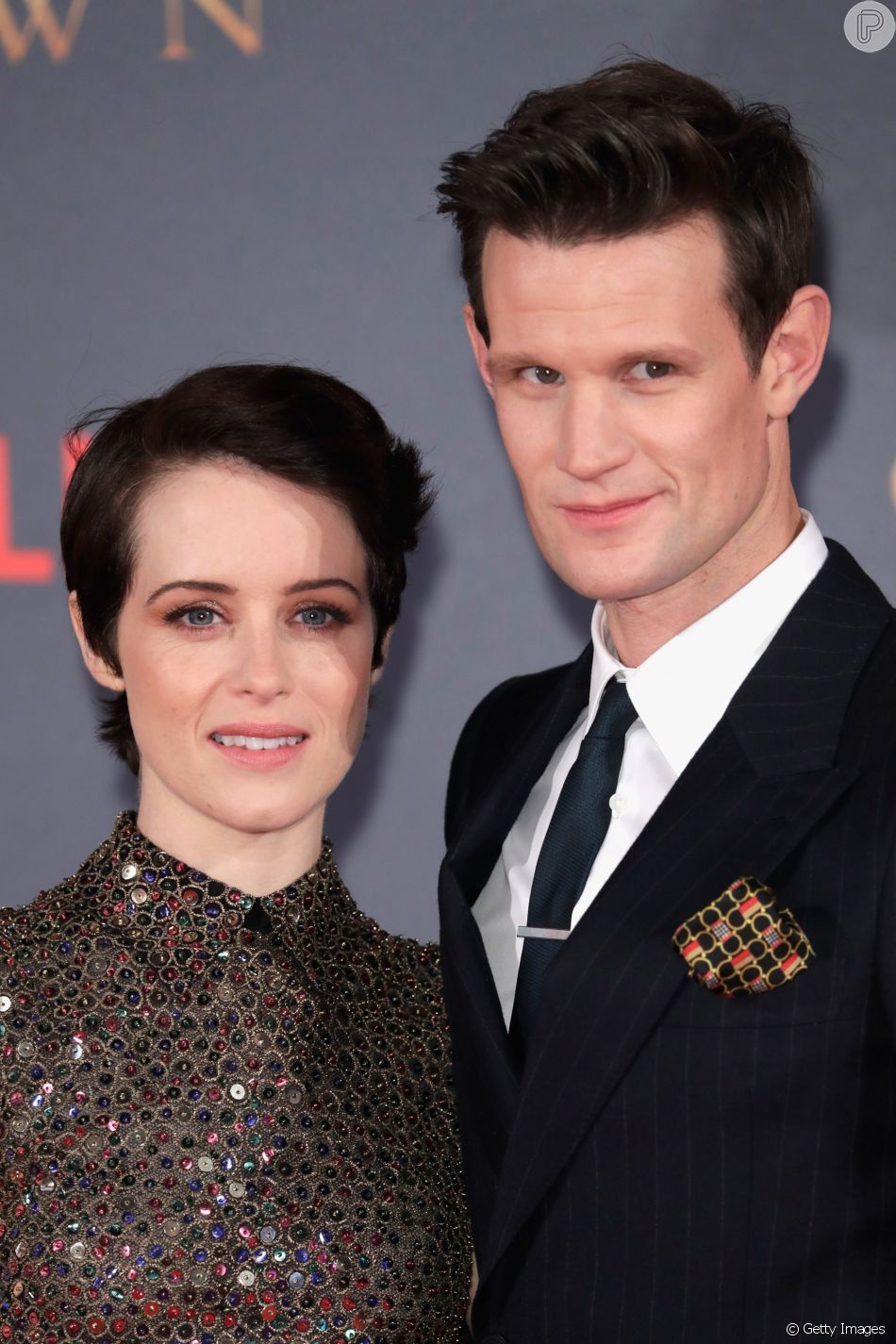 Rainha em 'The Crown', Claire Foy tinha salário menor que seu par, como produtores admitiram em conferência nesta terça-feira, dia 13 de março de 2018
