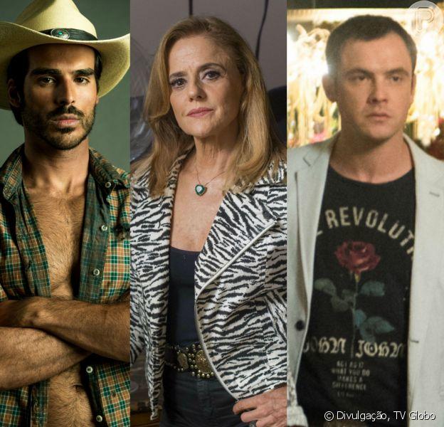 Xodó (Anderson Tomazinni) revela a Gael (Sergio Guizé) que Sophia (Marieta Severo) matou Rato (Cesar Ferrario), na novela 'O Outro Lado do Paraíso'