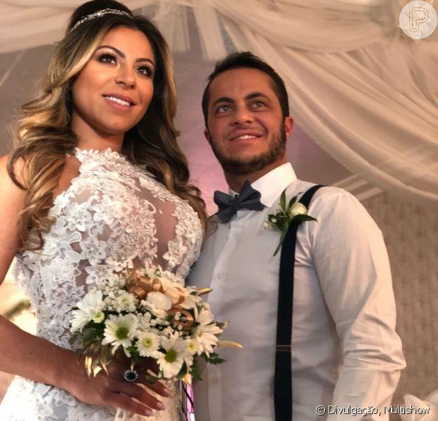 Thammy Miranda se casou com Andressa Ferreira na sexta-feira, 16 de março de 2018