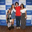 Maisa Silva também estava acompanhada por uma prima mais nova e por sua tia Gisele
