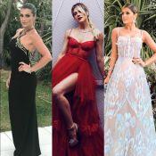 Flávia Alessandra, Gio Ewbank e Thássia Naves brilham em baile de gala. Looks!