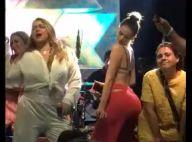 Bruna Marquezine, com look poderoso, canta e dança no palco de festa. Vídeos!