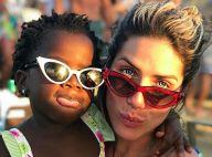 Giovanna Ewbank conta que filha, Títi, se vê em boneca negra: 'Diz que é ela'