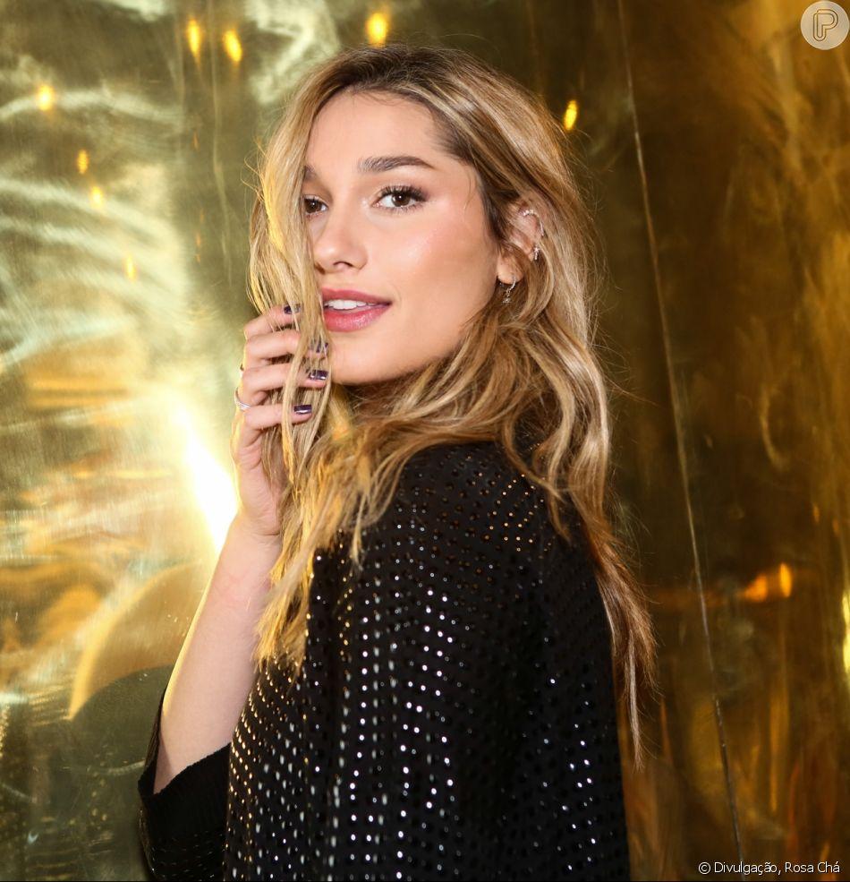 Sasha Meneghel sonha em desenhar look para Bruna Marquezine: 'Usar no red carpet'