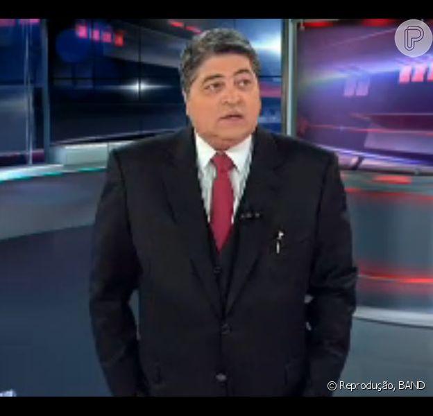 José Luiz Datena foi criticado nas redes sociais após narrar o jogo entre Itália e Costa Rica, nesta sexta-feira, 20 de junho de 2014