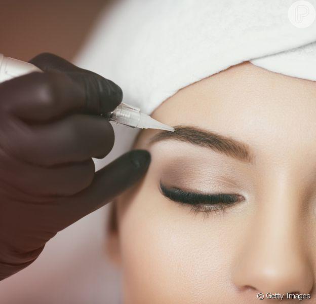 Micropigmentação: saiba tudo sobre a técnica que deixa as sobrancelhas mais definidas e fartas