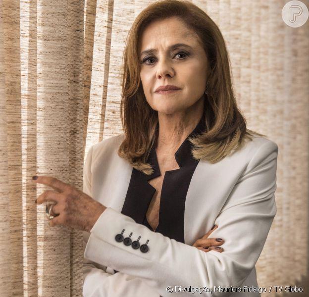 Sophia (Marieta Severo) não terá seu caráter regenerado na novela 'O Outro Lado do Paraíso'. 'A vida dela não tem nada de afeto, empatia, solidariedade, como ela pode ter um final bom?', fala a intérprete da vilã