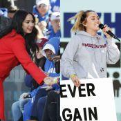 Demi Lovato e Miley Cyrus vão à marcha crítica ao mercado de armas dos EUA