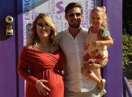 Rafael Cardoso e Mariana Bridi reúnem amigos no chá de bebê do filho, Valentim