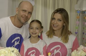 Sheila Mello e Xuxa comemoram 5 anos da filha com festa do pijama:'Ela escolheu'